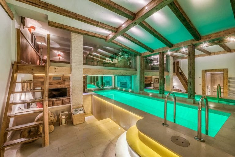 Chalet Namaste, Courchevel 1850 Swimming pool Catered Luxury Ski Chalet