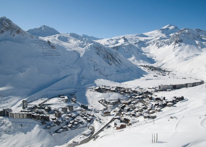 Tignes Resort. Photo Credit: Tignes Tourism/Andy Parant