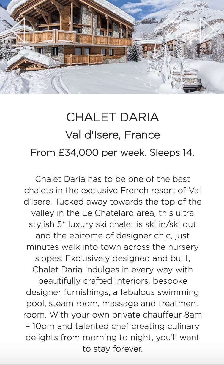 Guest Blog - Top Little Things - Easter Luxury Ski Chalets