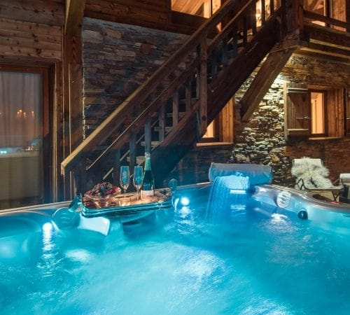Chalet Ambre, Tignes in France.