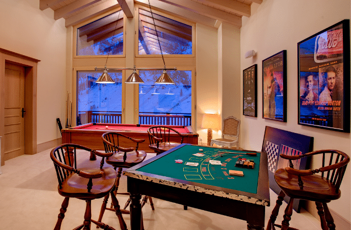 Chalets with Games & Cinema Rooms