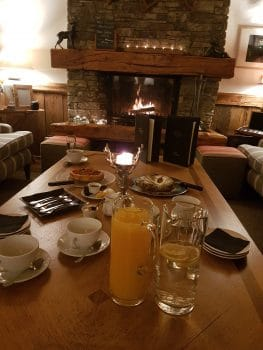 Afternoon Tea, Chalet Mistral Val disere