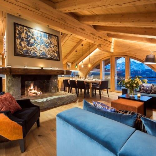 Entre Ciel Et Terre Luxury Ski Chalet Verbier