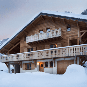 Chalet Grand Coeur, Chatel, The Chalet Edit