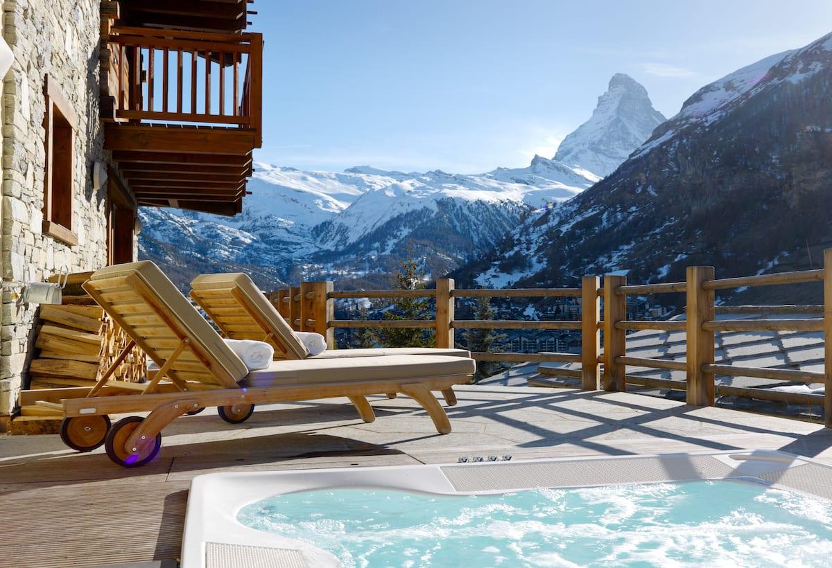 Chalet Maurice, Zermatt, Luxury Ski Chalet with Hot Tub Zermatt